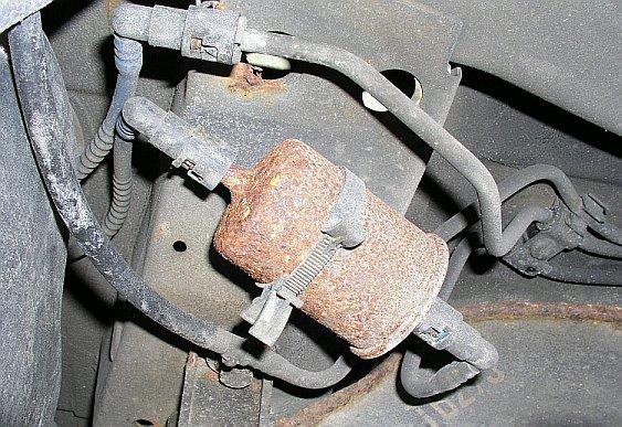 schnellverschluss kraftstofffilter movano